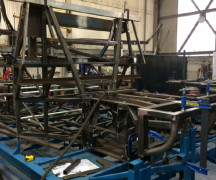 Supacat HMT Jackal Chassis Manufacturing at Blachkill Engineering