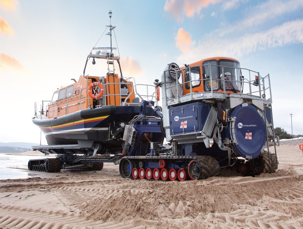 RNLI Lifeboat Launch and Recovery System, designed and built by SC Innovation