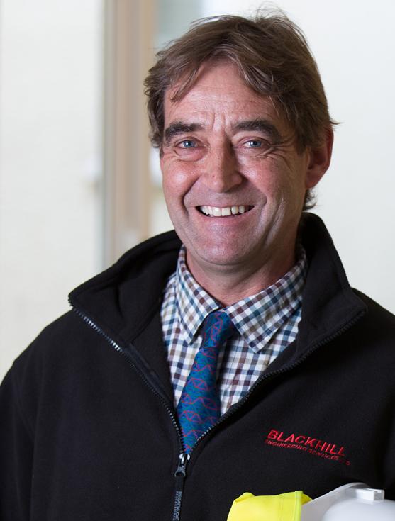 Mark Harrison, Engineering Manager, Blackhill Engineering