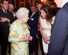 Lizzie Jones, Opearations Director of SC Group at the Queens Award Reception