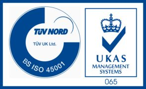 BS ISO 45001 UKAS Logo