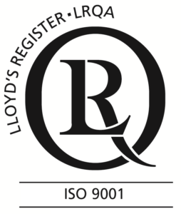 Blackhill Engineering are ISO 9001 accredited