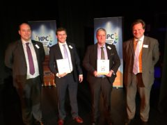 Blackhill win two HPC awards for steel fabrication of 650 tonne jetty